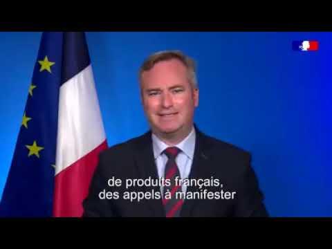 Message de Jean-Baptiste Lemoyne, le Secrétaire d'Etat des Français hors de France.
