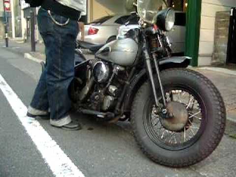 BLUES FOR CHINO / 46'HARLEY DAVIDSON EL KNUCKLE HEAD - YouTube