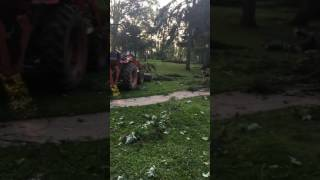 Tornado Aftermath Hamburg, NY 7-20-2017