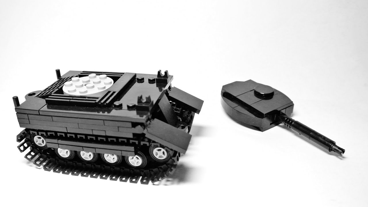 How to make a tank of Lego 96