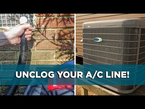 How to Easily Unclog an Air Conditioner Drain Line