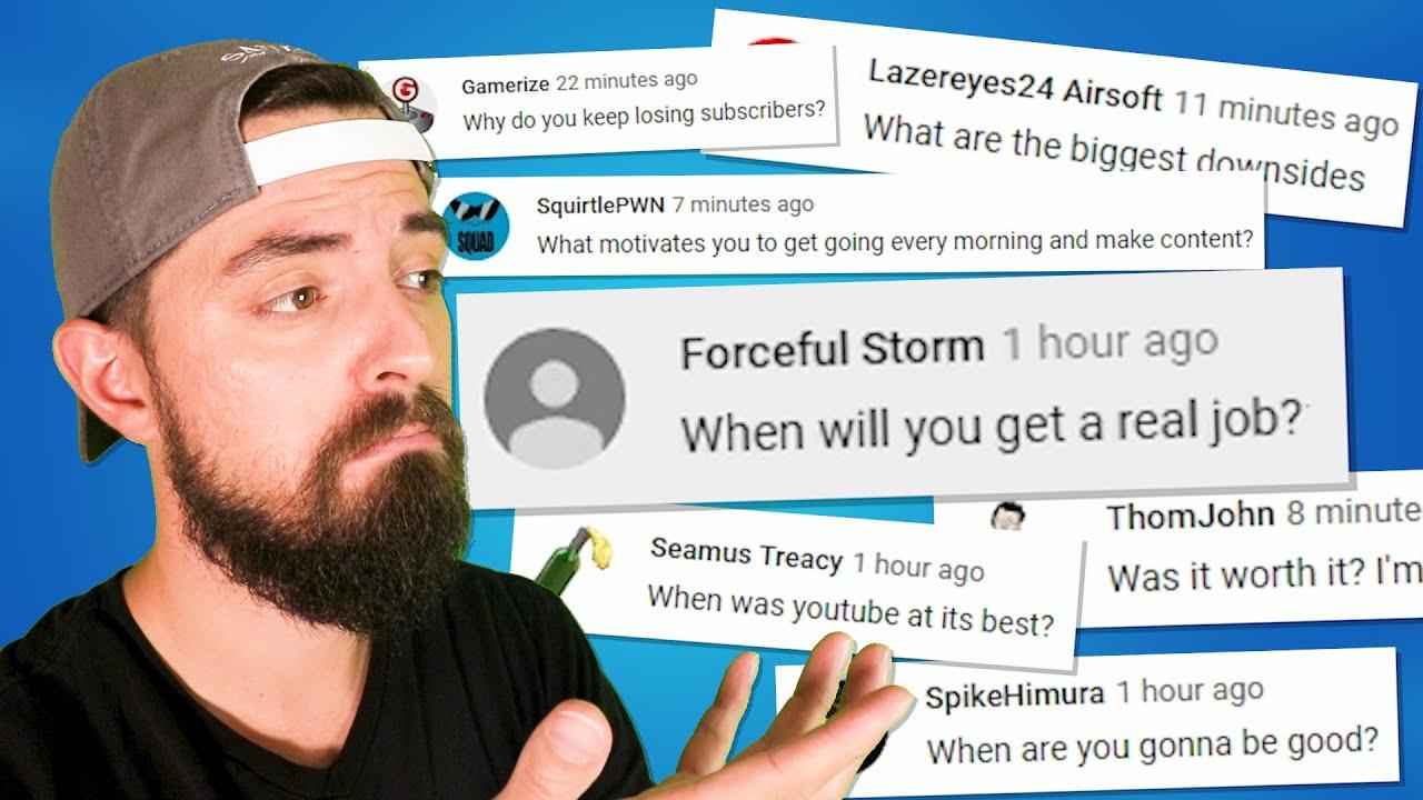 Expert YouTuber répond à vos questions + vidéo