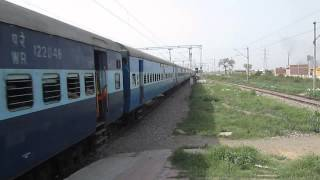 irfca 19024 Firozpur - Mumbai Central Janta Express at its best