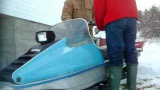 First Start and Ride on the Sno Jet