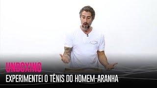 EXPERIMENTEI O TÊNIS DO HOMEM-ARANHA