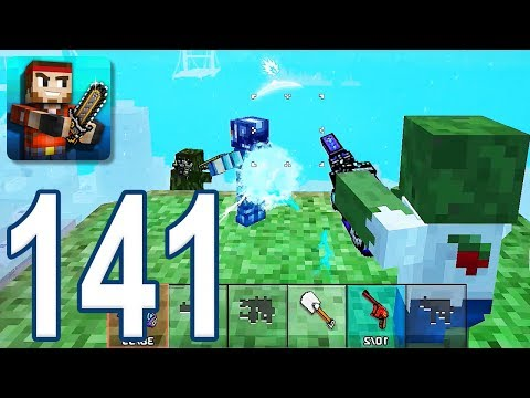 Pixel Gun 3D - Gameplay Walkthrough Part 141 - Battle Royale (iOS, Android)