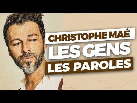 Christophe Maé - Les gens (Paroles Lyrics Video)