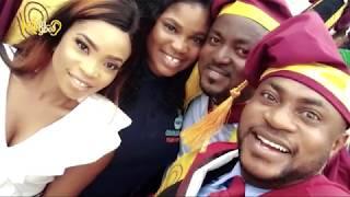 Odunlade Adekola Graduates From UNILAG{Nigerian Entertainment}