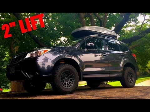 I lifted my Subaru Forester! - YouTube