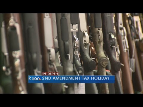 Texas Senate approves tax free holiday for firearms and hunting gear