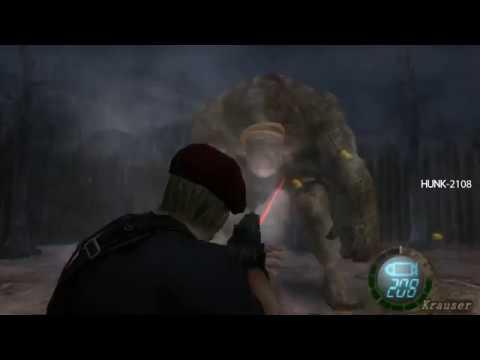 Resident Evil 4 - Jack Krauser VS El Gigante USE TMP Only