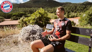 Manuel neuer speaks in an interview about the game against fc barcelona, champions league mode and chances of winning title uefa champio...