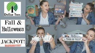 DOLLAR TREE HAUL| JACKPOT Fall and Halloween Finds| Megan Navarro