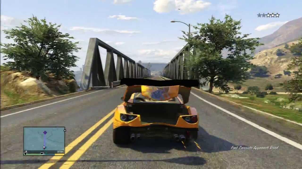 Gta 5 Ferrari Trunk Spoiler