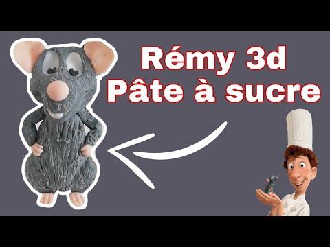 tuto-remy-3d-pÂte-a-sucre-/-ratatouille