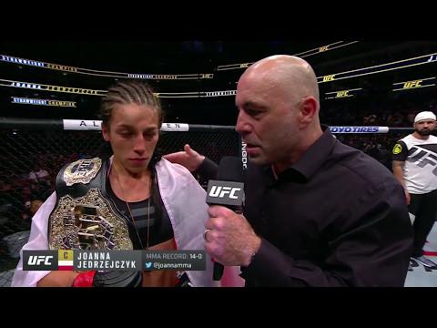 UFC 211: Joanna Jedrzejczyk and Jessica Andrade Octagon Interviews