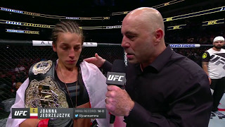 UFC 211: Joanna Jedrzejczyk and Jessica Andrade Octagon Interviews