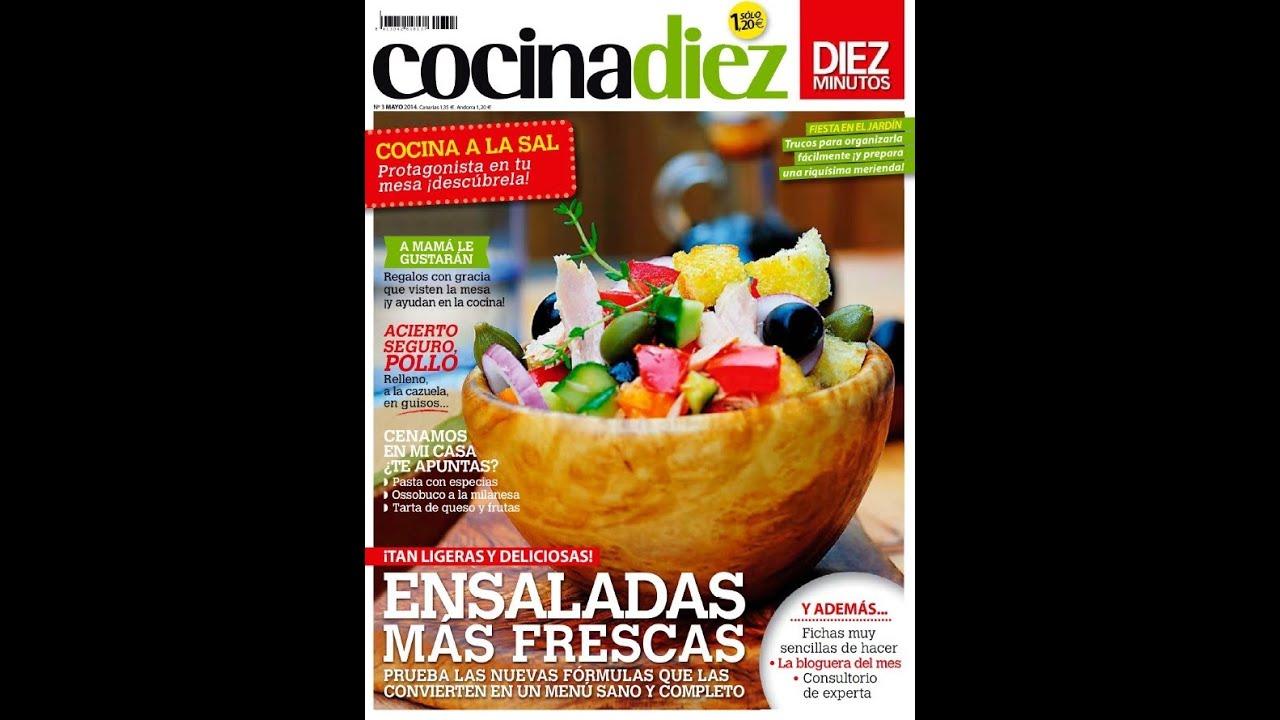 Revista De Cocina | Revista Cocina Diez Espana Ensaladas Frescas Youtube