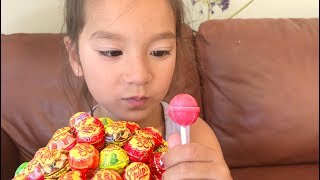 Layla learns colors with Lollipops Compilation