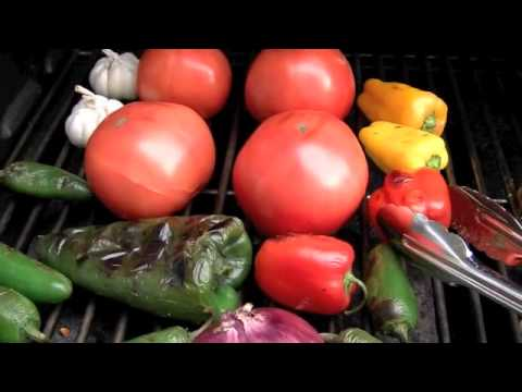 Summertime Grilled Salsa Recipe All-Natural Four Component Salsa