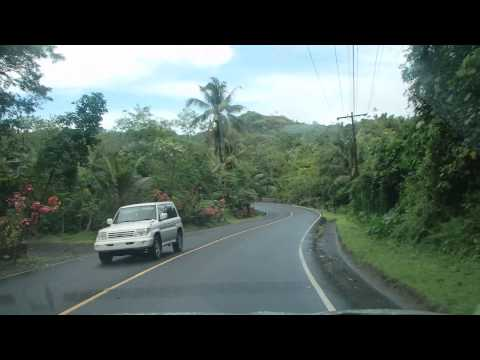 Driving in Palau