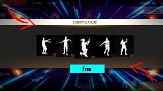 New Trick To Get Free Emotes And Magic Cube At Free Fire 2019
