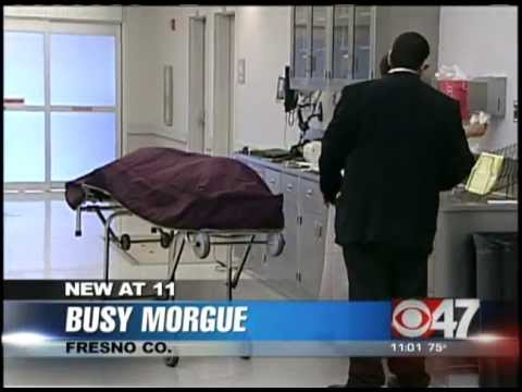 Busy Morgue in Fresno County