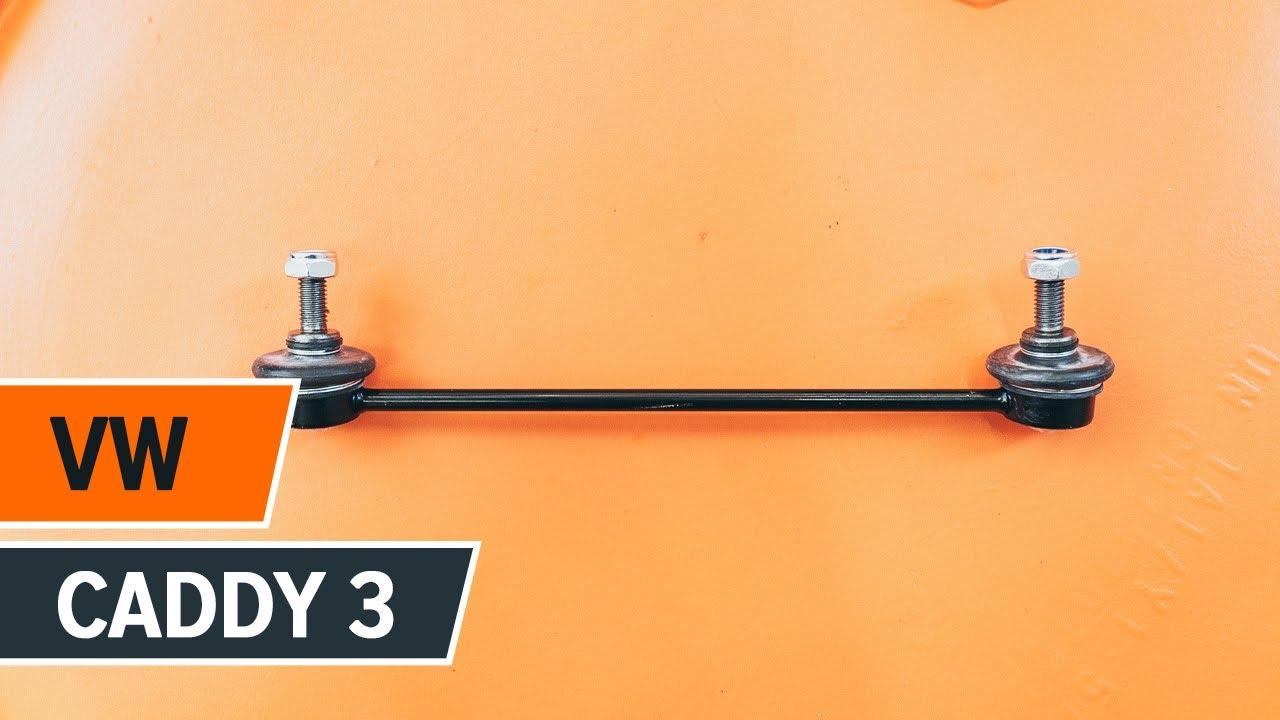 comment remplacer des biellette de barre stabilisatrice arri re sur une vw caddy 3 tutoriel. Black Bedroom Furniture Sets. Home Design Ideas
