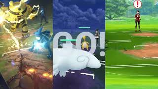 World's first PvP battle in pokemon go