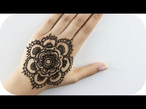 Henna Tutorial #1 – Blume
