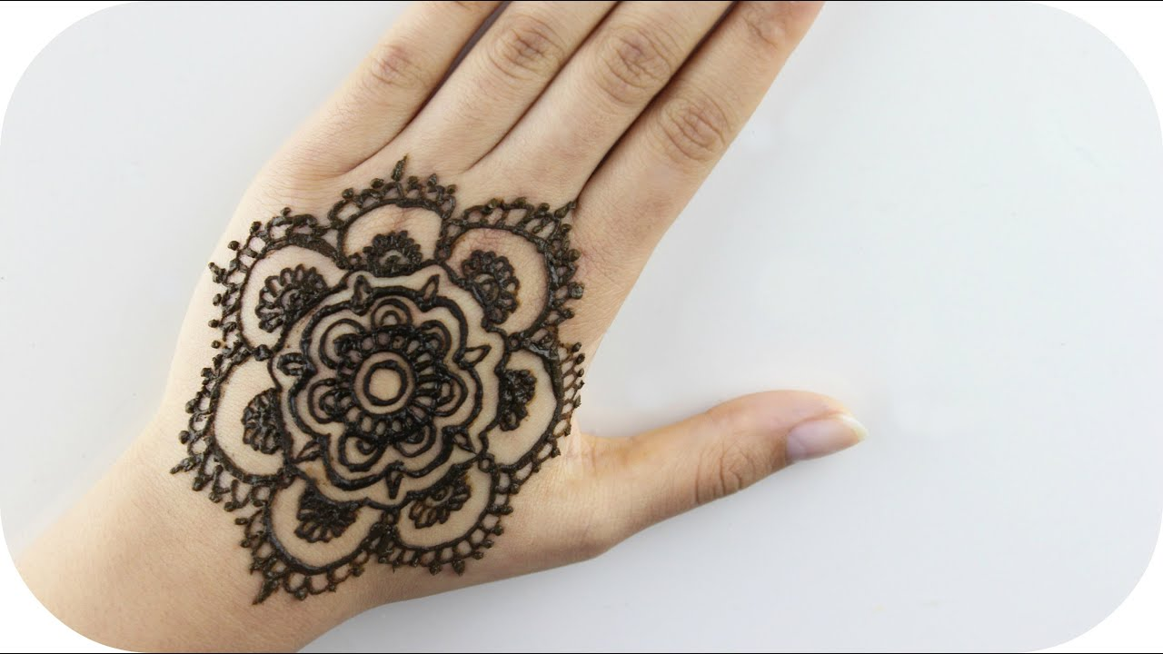 Henna Tattoo Tutorial : Henna tattoo vorlagen für die hand makedes