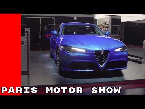 Maserati, Jeep, Alfa Romeo, Fiat at Paris Motor Show 2016