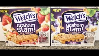 Welch's Graham Slam: Pb&j Strawberry & Grape Review