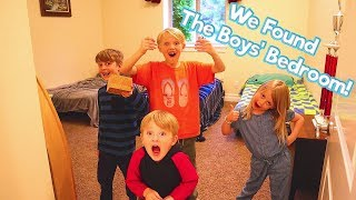 Exploring Mr. E's Mansion! House Tour Episode 1! The Boys Room! / The Beach House