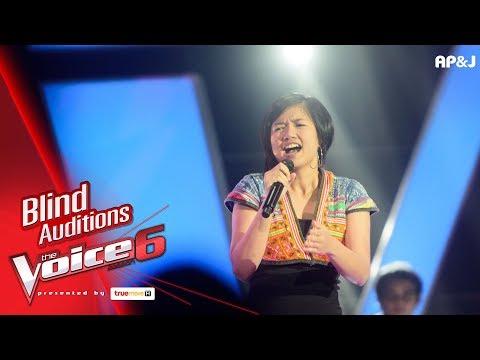 พีพี - : More Than I Can Say  - Blind Auditions - The Voice Thailand 6 - 17 Dec 2017