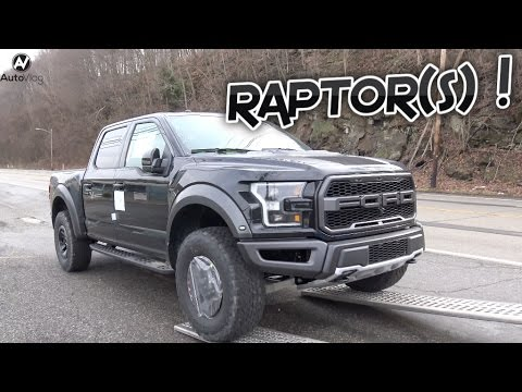 Thumbnail: Taking delivery of TWO Ford Raptors !