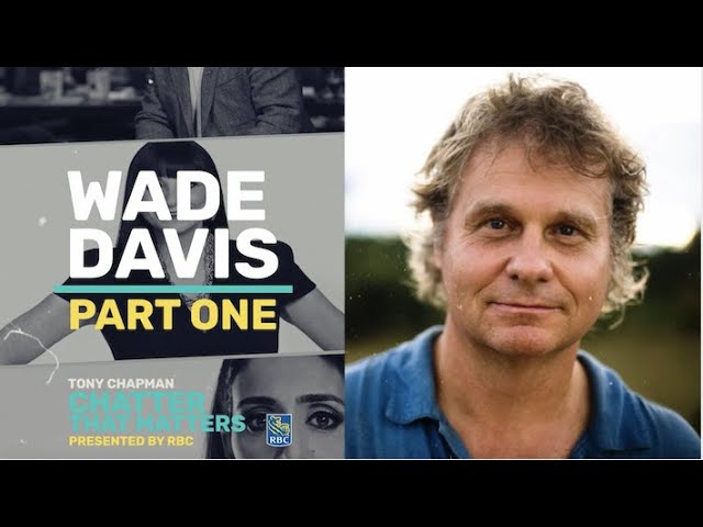 I chat with anthropologist Wade Davis about his Rolling Stone article -The Unravelling of America.