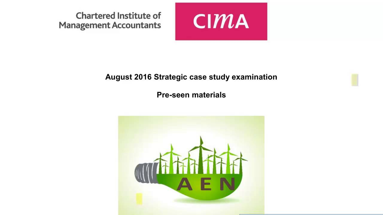 cima case analysis Bilal is currently reading for the cima management level case study he has over 2 years of corporate experience at pwc sri lanka, a global assurance.
