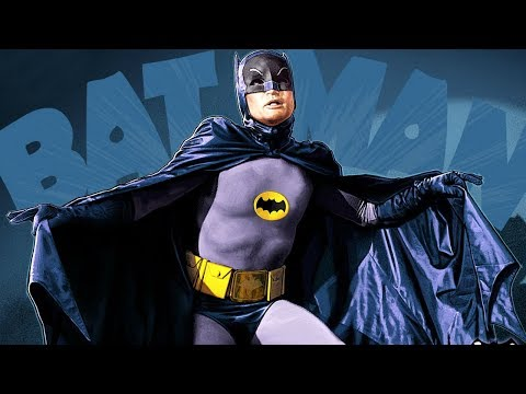 Remembering Adam West as Batman