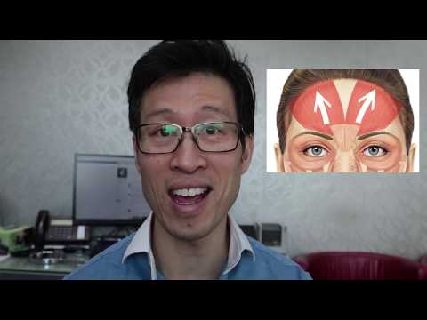 How to avoid brow heaviness with forehead anti-wrinkle injections