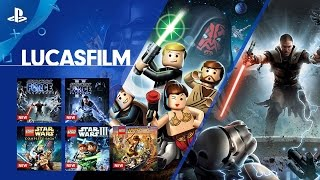 Star Wars and Lucasfilm on PlayStation Now | PS4