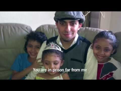 Raif Badawi's son: Why are you in Prison Papa?