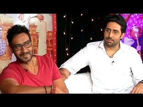What the cast of Bol Bachchan have to say