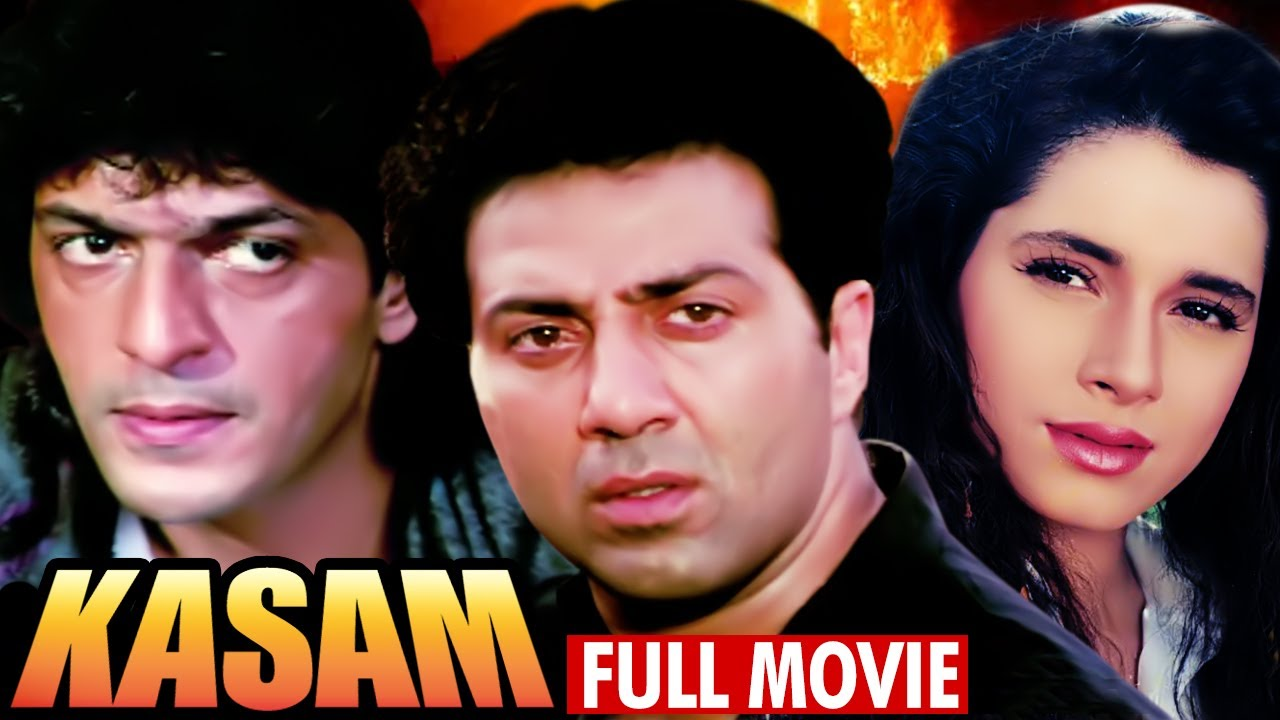 Download Kasam Full Movie | Sunny Deol Hindi Action Movie | Neelam | Chunky Pandey | Bollywood Action Movie