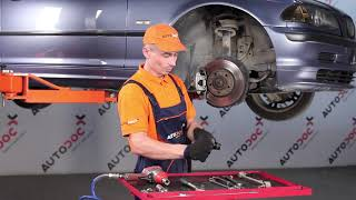 How to replace Brake Drum on OPEL INSIGNIA Saloon - video tutorial
