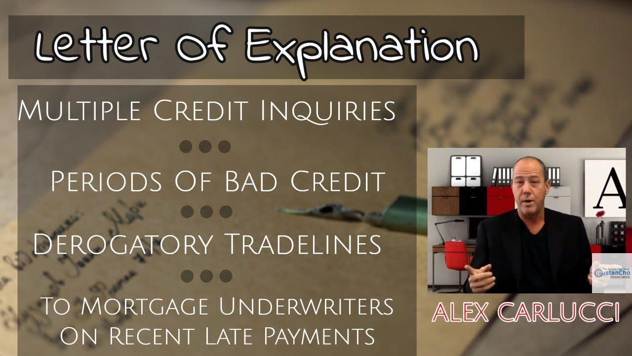 Sample Letter Explaining Derogatory Credit from i.ytimg.com