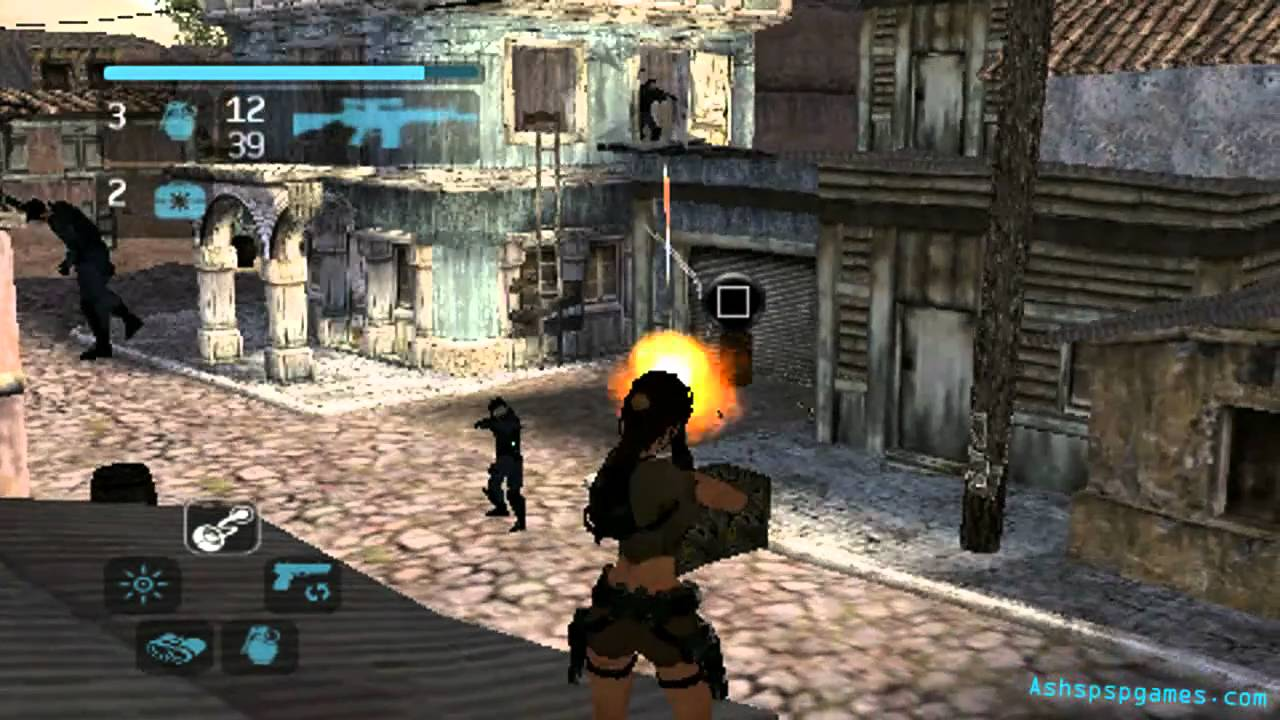 Lara Croft Tomb Raider Legend Psp 02 Peru Return To