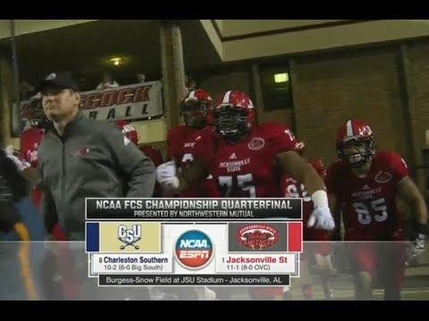FCS football 2015 Quarterfinals: Charleston Southern vs Jacksonville State