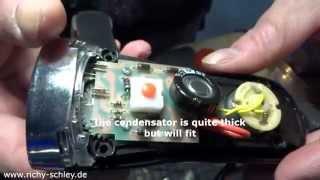 Ewige Taschenlampe selber bauen (Goldcap Kondensator) capacitor lamp