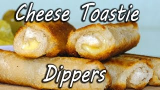 How to make Cheese Toastie Dippers